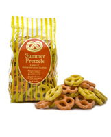 Refreshing lemon & orange pretzels - the perfect summer treat. Available May 1 - while supplies last.
