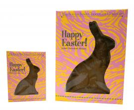 It'll be a hoppy Easter with this solid sugar free bunny. Available February 1 - while supplies last.
