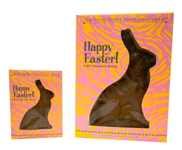 It'll be a hoppy Easter with this solid milk chocolate bunny. Available February 1 - while supplies last.