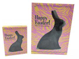 It'll be a hoppy Easter with this solid dark chocolate bunny. Available February 1 - while supplies last.