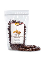 Fresh roasted peanuts covered in a satisfying sugar free chocolate.