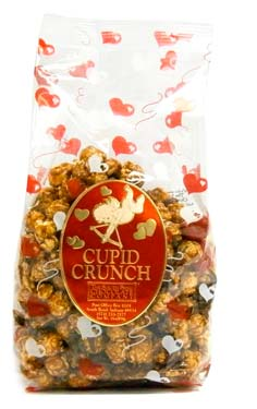 Caramel corn drizzled with milk chocolate plus Michigan Cherries. Available January 1 - while supplies last.