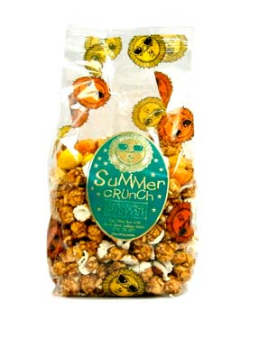 Caramel corn coated with lemon and orange and drizzled with white chocolate. Available May 1 - while supplies last.