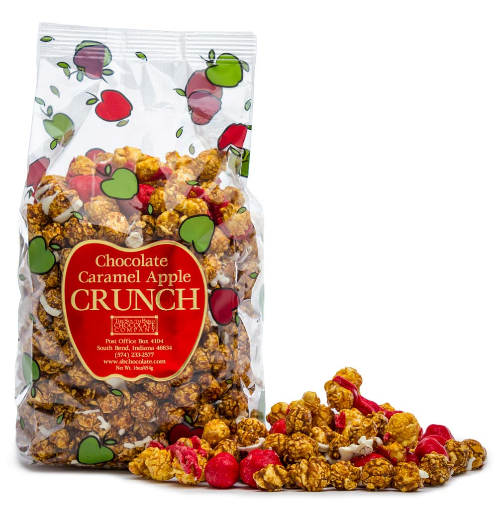 Chocolate Caramel Apple Crunch - CrunchesThe South Bend Chocolate ...