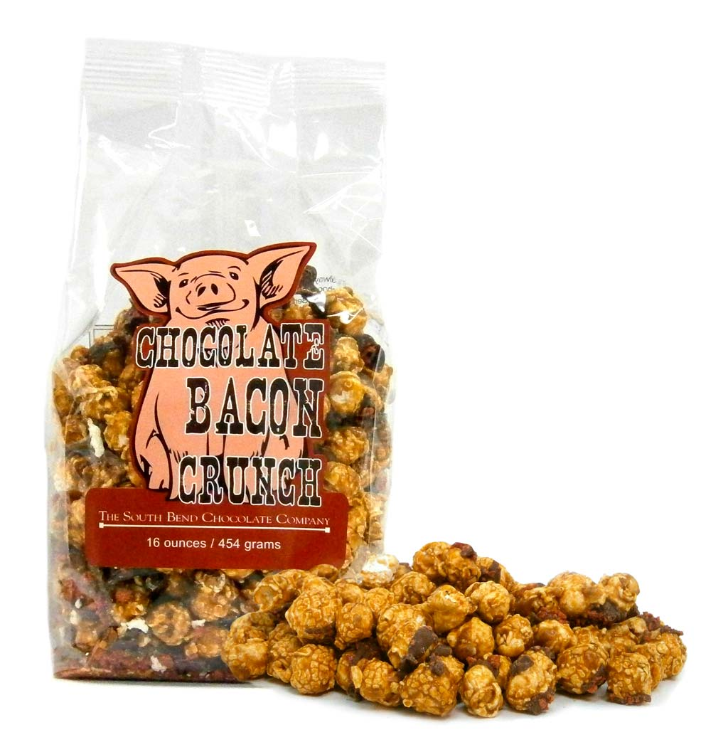 Chocolate Bacon Crunch - CrunchesThe South Bend Chocolate Company
