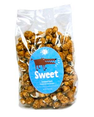 Sweet Caramel Corn combines nature's best salt with rich, flavorful chocolate and caramel corn. Salt and chocolate - what a combination!