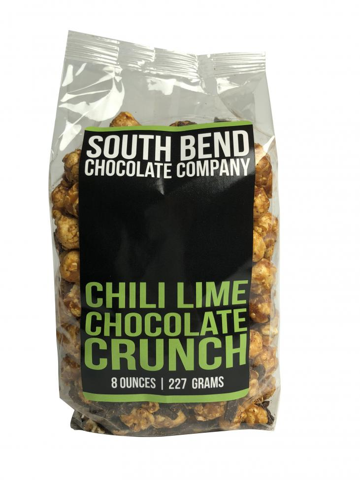 An unforgettable blend of caramel corn with dark chocolate, chili pepper and lime!