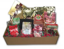 The Ultimate Christmas Gift Box comes shipped with the following: