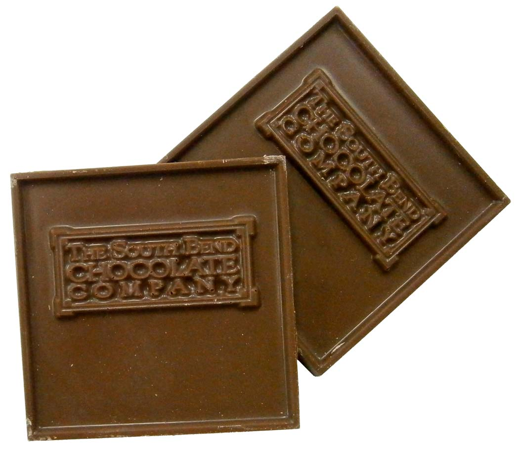 Milk chocolate squares